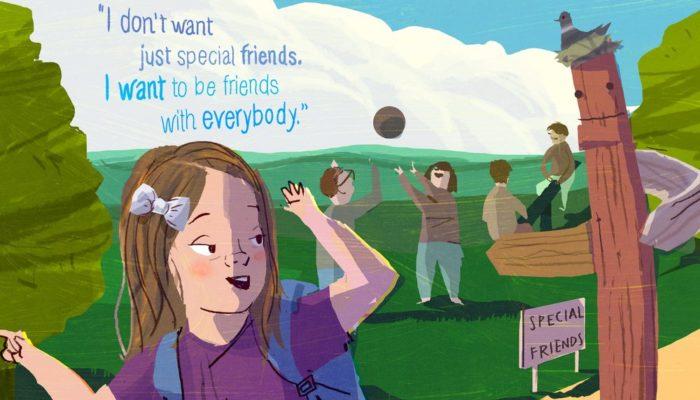 Non voglio amici speciali. Voglio amici, come tutti.