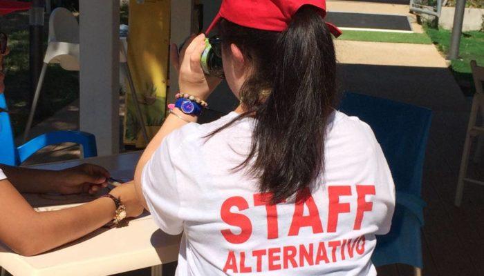 Un momento della formazione dedicata allo staff.